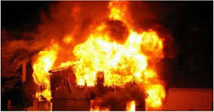 Huge fire engulfs SITE area, two workers killed